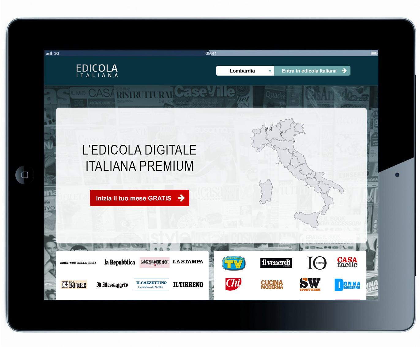 EDICOLA ITALIANA