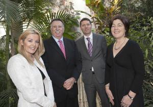From Left:  Dawn Walsh, Kernel Capital; Brendan Farrell, CEO, HiberGene Diagnostics; Kevin Healy, Manager, Corporate Banking Ireland, Bank of Ireland & Margot Marsden, Senior Development Advisor, Enterprise Ireland.