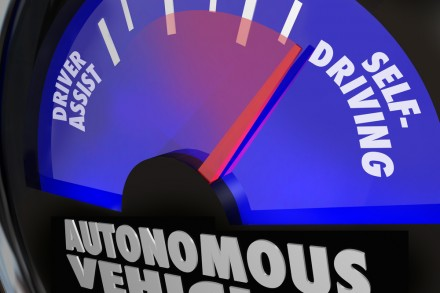 Autonomous Vehicles Self Driving Cars Gauge