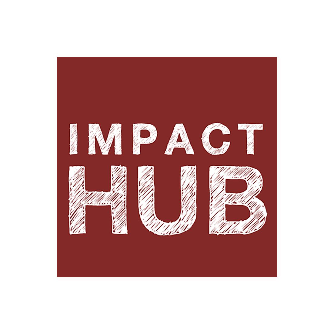Resultado de imagen de impact hub logo