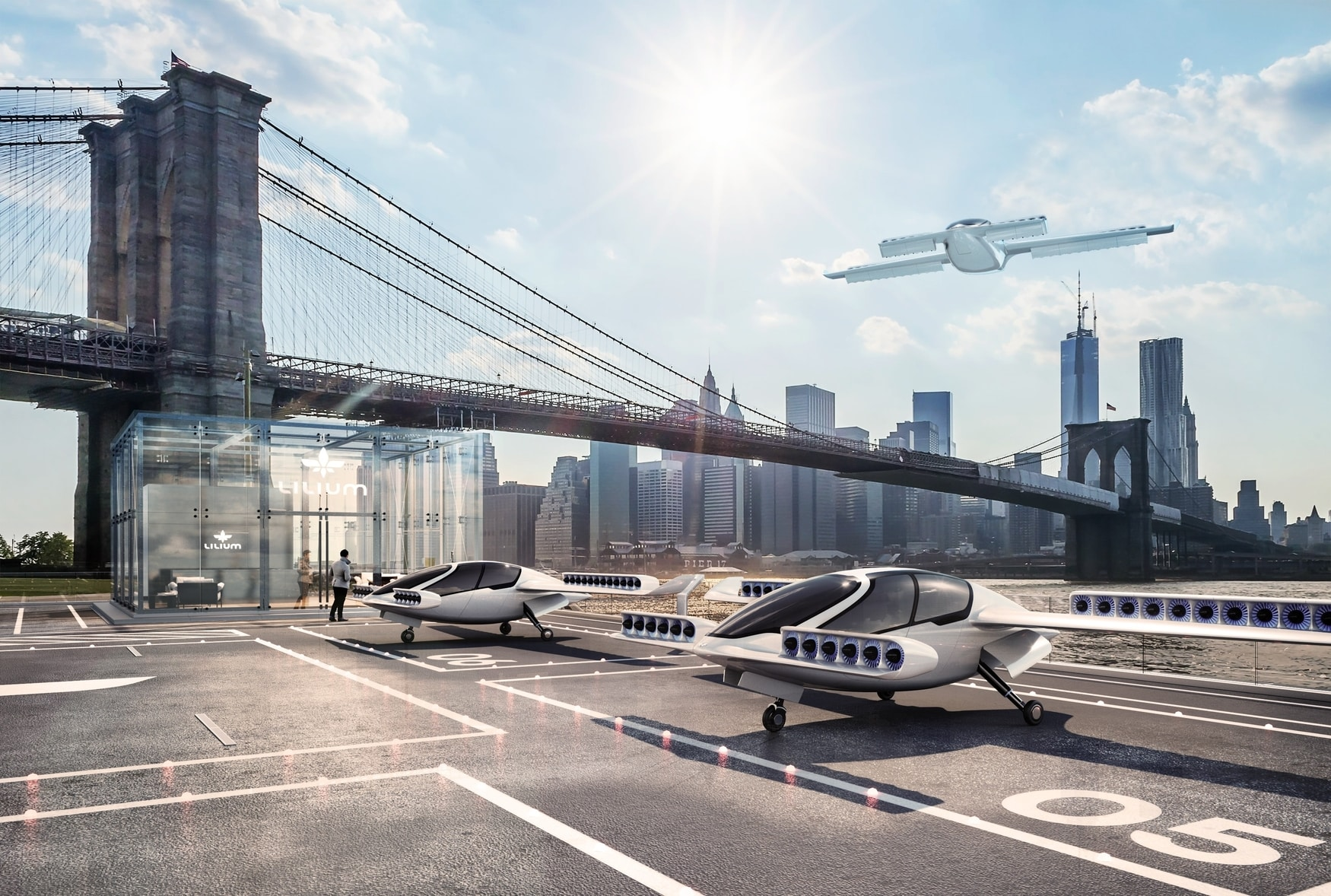 Sky's the Limit: Lilium, a Flying Car Company, Raises $90 Million