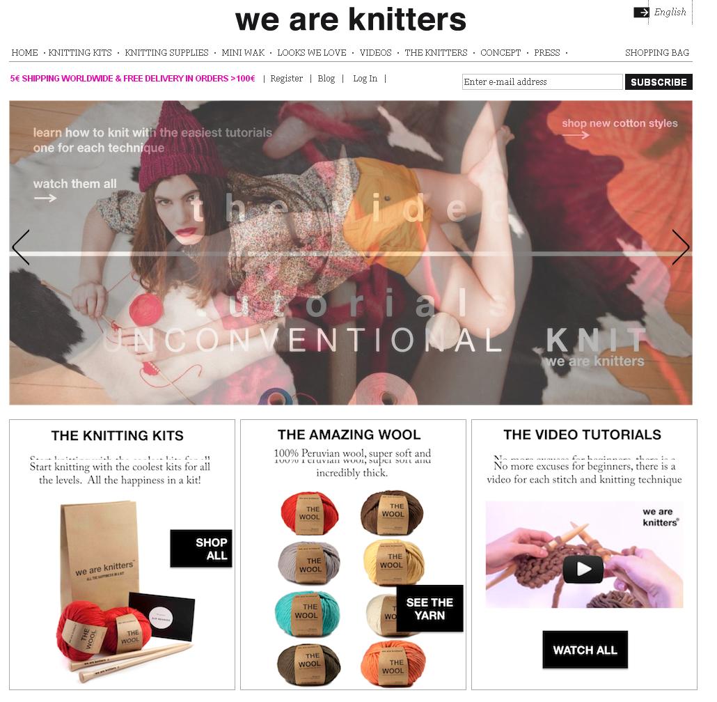 we are knitters raises 150k in funding finsmes. Black Bedroom Furniture Sets. Home Design Ideas